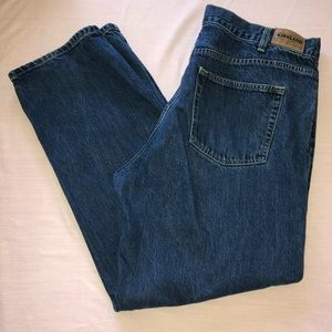 Blue Men's Straight-Leg Jeans